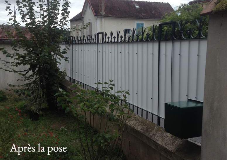 brise vue occultant jardin pas cher en plexiglass. Black Bedroom Furniture Sets. Home Design Ideas