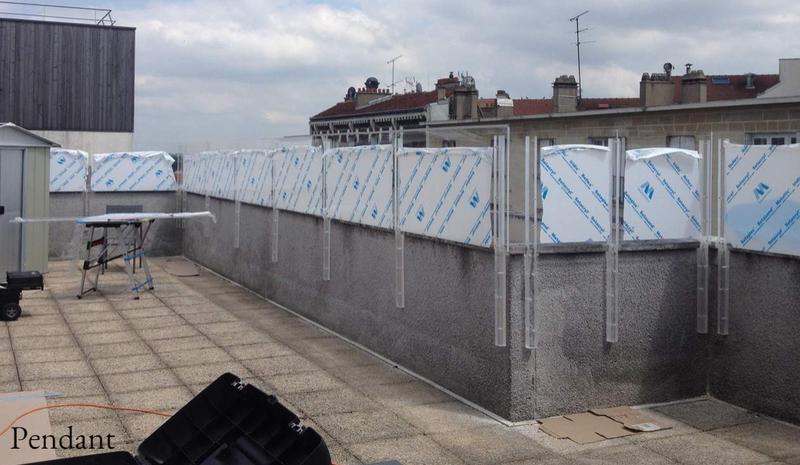 Brise vent pvc plexiglas sur mesure pas cher - Brise vent terrasse ...